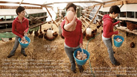 """Pasture Raised vs. Cage Free"" - Alexis Koefoed runs a small family farm raising pastured chickens for eggs and meat."