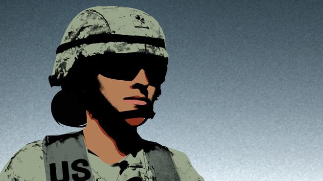 Major Kate Guttormsen at Fort Stewart, Georgia