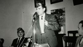 Hector Garcia circa 1950 organizing