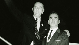 Lyndon Johnson and Hector Garcia early 1960s