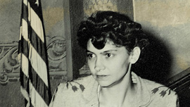 Vashti McCollum in court.