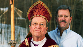 Bishop Gene Robinson and Mark Andrew