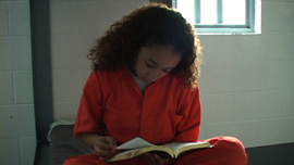 2004: Cyntoia within three weeks following her arrest for murder