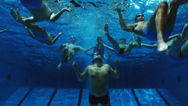 Team under water