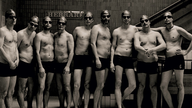 Stockholm Swim Art Gents Group photo.