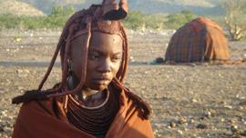 Komungandjera Tjambiru, a Himba woman, Kunene Region, Namibia