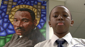 Student at the Walter D. Palmer LLP Charter School