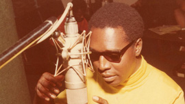 Clarence Carter in Muscle Shoals.
