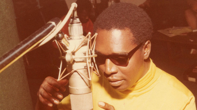 Clarence Carter, in Muscle Shoals