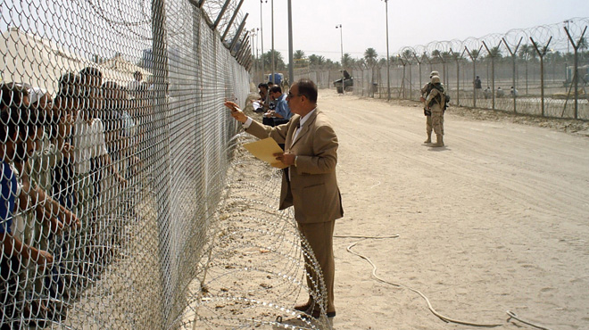 Dr. Riyadh at Abu Ghraib prison