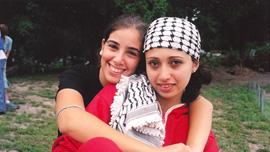 Adi (Israeli, Jewish) and Rana (Palestinian, Muslim), Building Bridges for Peace