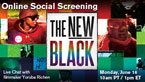The New Black Online Screening & Live Chat