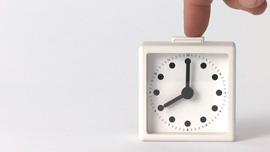 Clock designed Naoto Fukasawa