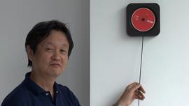 Naoto Fukasawa with Muji CD player