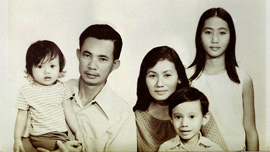 The Hoang family in Vietnam