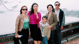 The Hoang family