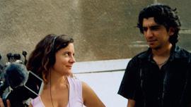 Nina Davenport and Muthana Mohmed