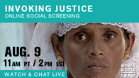 Invoking Justice Online Social Screening