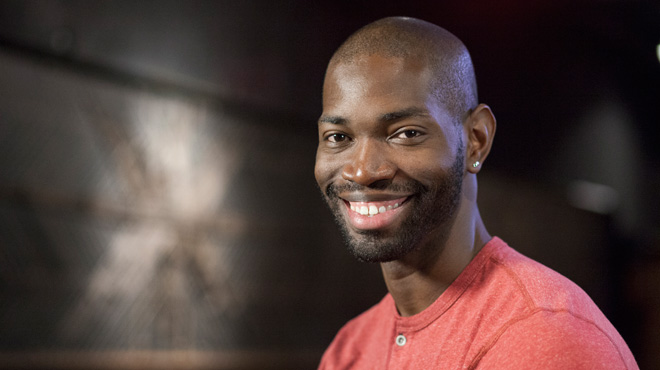 Playwright Tarell McCraney