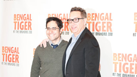 Bengal Tiger director Moises Kaufman and writer Rajiv Joseph