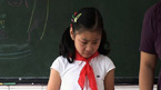 Schoolchildren in China take part in an experiment in democracy by running for class monitor.