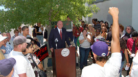 Arizona State Superintendent Tom Horne calls for the banning of ethnic studies classes in Tucson