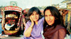 Senain Kheshgi and Geeta V. Patel at Dal Lake