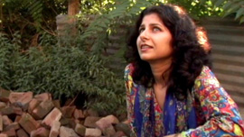 Reporter Aarti Tikoo visits her former home in Kashmir