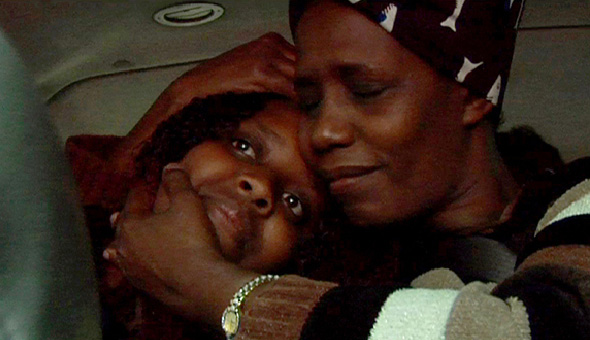 Rose and Nangabire reunite for the first time.