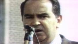 Asa Carter during the 1970 Election