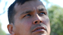 Actor Adam beach, Saulteaux First Nation 