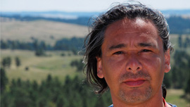 Director Neil Diamond, Cree First Nation 