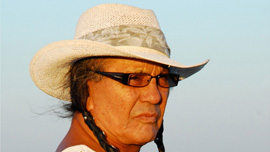 Russell Means at Wounded Knee 