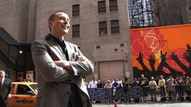 CEO of Tesla Motors Elon Musk at a publicity event