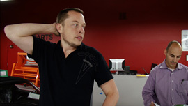 CEO of Tesla Motors Elon Musk worries Roasters will not be finished in time to deliver to their buyers