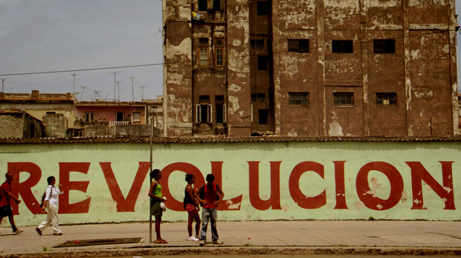 Revolution lives on the walls in Cuba