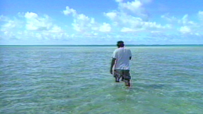 Still from <i>Rising Waters: Global Warming and the Fate of the Pacific Islands</i>