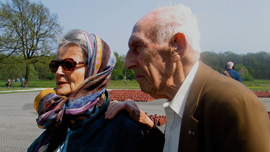 Jack and Ina in Westerbork