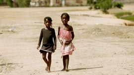 Young girls in Mopani