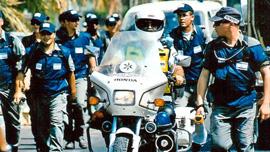 Police enter Neve Dekalim