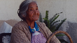 Adela Lopez, daughter of revolutionary Mauro Lopez, was born in the mountains of Morelos during the revolution.