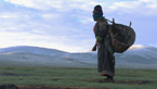 Tibetan nomads inhabit the crossroads between old and new.