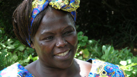 Kenyan Nobel Peace Prize Laureate Wangari Maathai