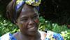 Kenyan Nobel Peace Prize Laureate Wangari Maathai