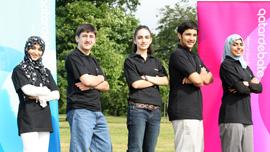 Fatima, Vartan, Tina, Talal, and Ayesha