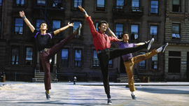 A scene from West Side Story  (1961) directed by Jerome Robbins and Robert Wise