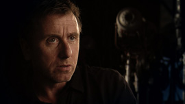 Tim Roth, star of the television series, Lie To Me, is interviewed at the Fox Studios in Los Angeles, California