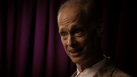 John Waters, director of Hairspray, is interviewed in Provincetown, Massachusetts for These Amazing Shadows