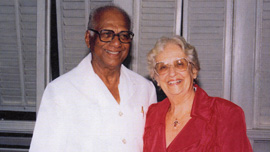 Cheddi and Janet Jagan, 1992