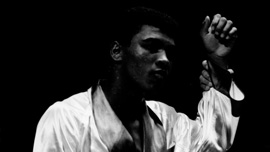 Rising star, Cassius Clay